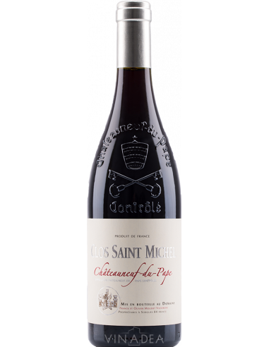 Clos Saint-Michel Châteauneuf-du-Pape Rouge 2017 75 cl