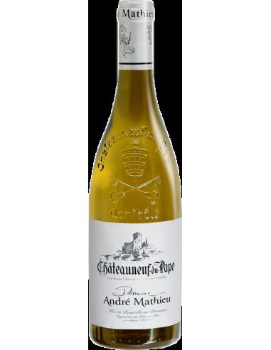 Domaine André Mathieu Châteauneuf-du-Pape Blanc 2019 75 cl